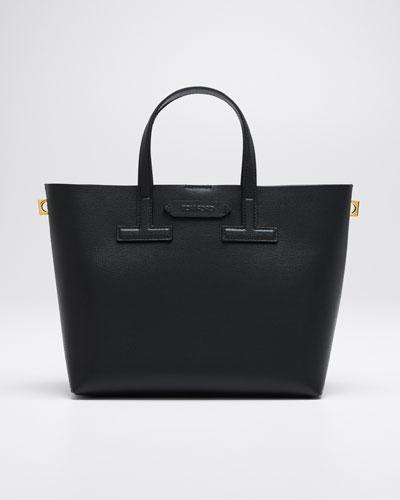 Mini T Saffiano Tote Bag