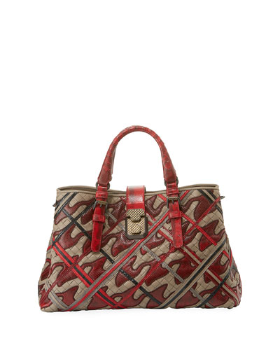 Ayers Wave Square Tote Bag