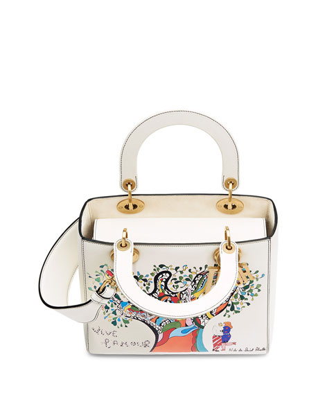 Dior Lady Dior Bag with Textured Niki de Saint Phalle Print 5ecb6589a92d7