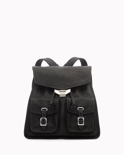 Field Leather Small Backpack