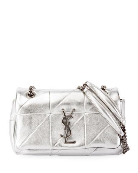 Saint Laurent Small Metallic Flap Shoulder Bag