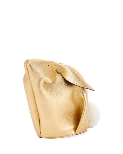Bunny Mini Metallic Crossbody Bag
