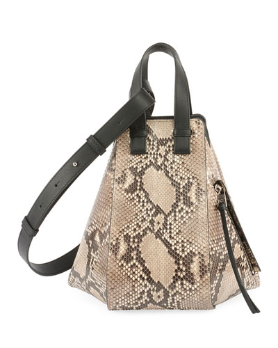 Hammock Small Python Satchel Bag