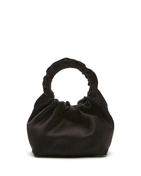 THE ROW Double Circle Small Top Handle Bag