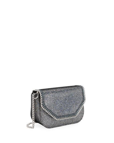 Stella McCartney Disco Glitter Falabella Mini Shoulder Bag wQzSjsV0