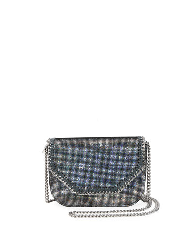 Disco Glitter Falabella Mini Shoulder Bag
