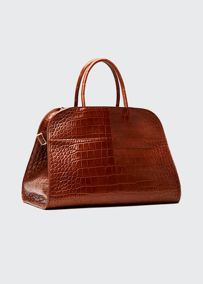 Margaux 15 Alligator Top-Handle Bag
