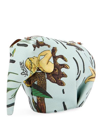 x Paula's Ibiza Mermaid Elephant Mini Bag