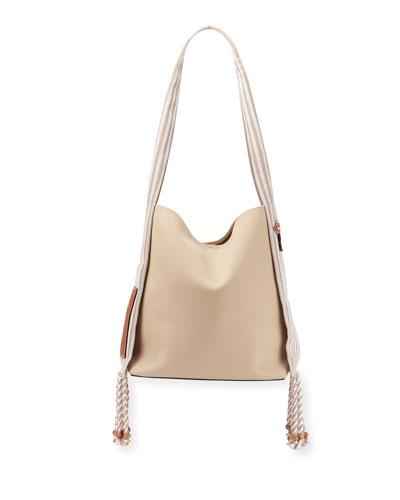 Bucket Scarf Tote Bag