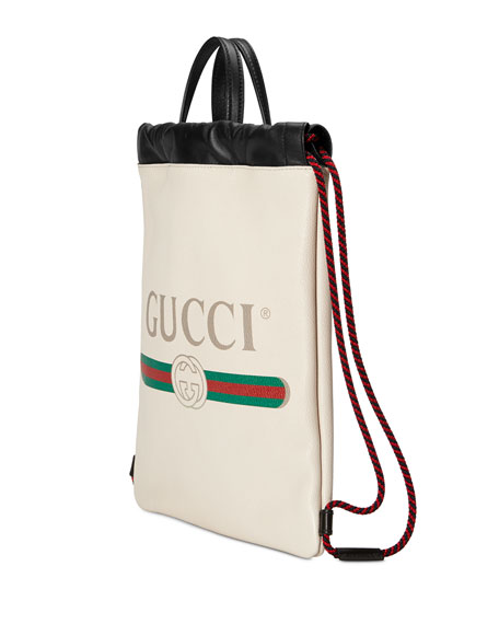 ea5234290d09 Gucci Gucci-Print Small Drawstring Backpack