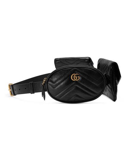 db3e3e6f9f9 Gucci GG Marmont 2.0 Multi Belt Bag