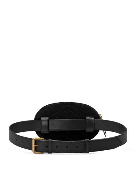 72a985dffd0 Gucci GG Marmont 2.0 Small Velvet Belt Bag