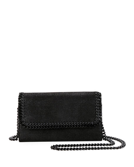 Stella McCartney Falabella Shaggy Deer Crossbody Bag (Black Hardware) 83994f20317e3