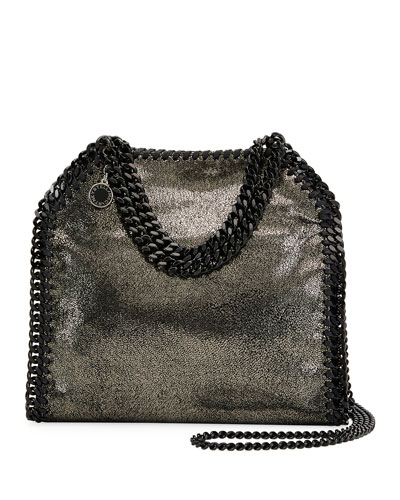 Falabella Tiny Metallic Dot Shoulder Bag - Black Hardware