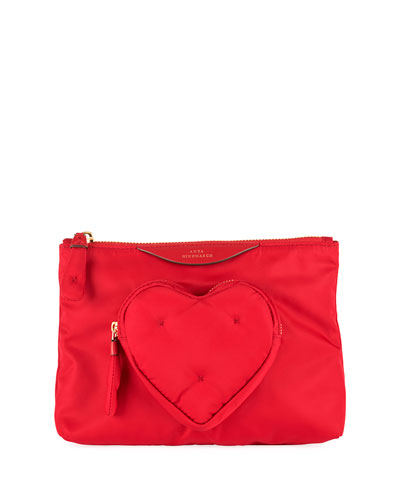Chubby Heart Pouch Wallet