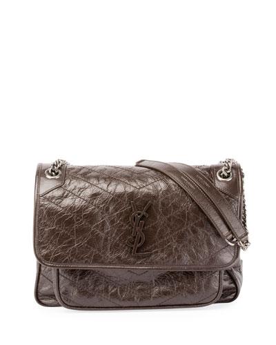 Monogramme Niki Medium Shoulder Bag, Brown
