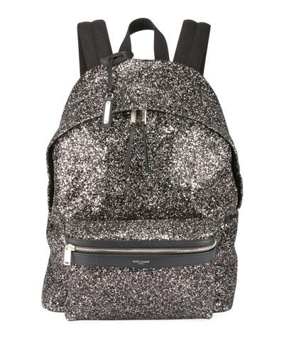 Mini City Glitter Metallic Backpack