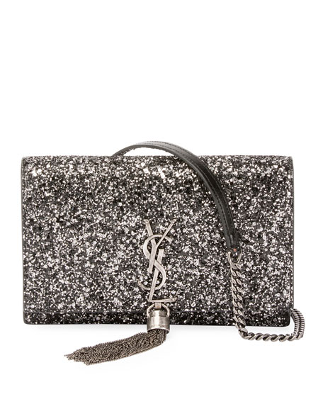KATE GLITTER WALLET-ON-CHAIN