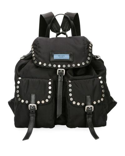 Large Tessuto Etiquette Backpack