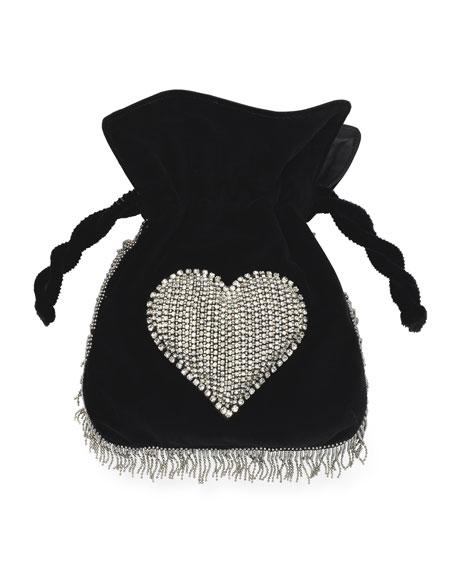 Disco Heart Nano Trilly Bag, Black