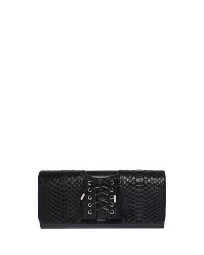 Anaconda Glove Clutch Bag