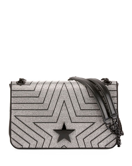 248ad2f12a49 STELLA MCCARTNEY STELLA STAR MEDIUM SHOULDER BAG ...