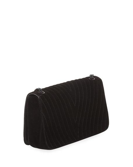 Stella McCartney Velvet Star Medium Shoulder Bag 3a10028b3fb53