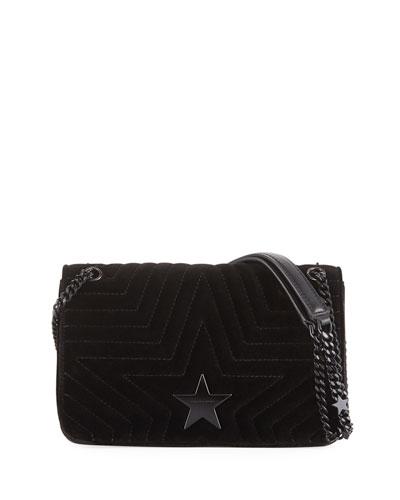 Velvet Star Medium Shoulder Bag