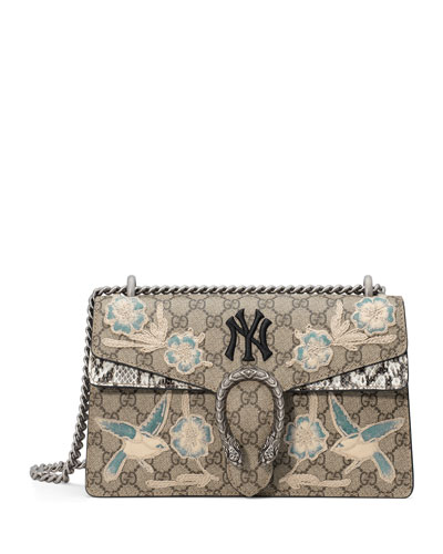 Dionysus Medium GG New York Yankees Shoulder Bag