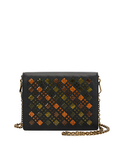 Intrecciato Stained Glass Montebello Crossbody Bag