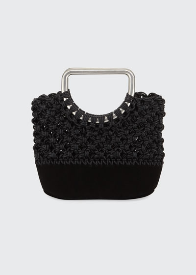 Small Market Macramé Bag