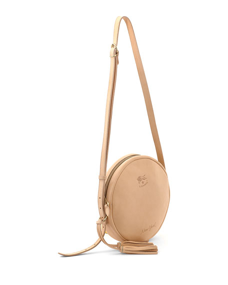Leather New York Circle Bag