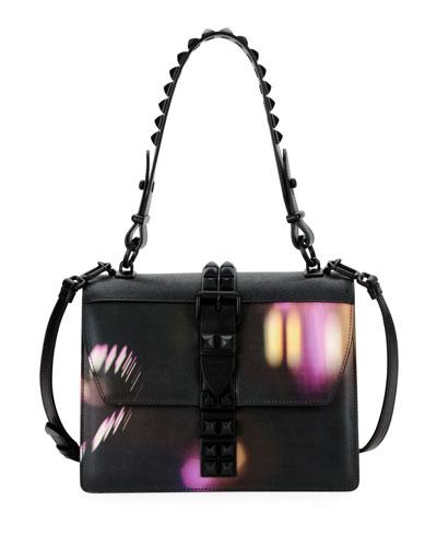Prada Elektra City Lights Top Handle Bag