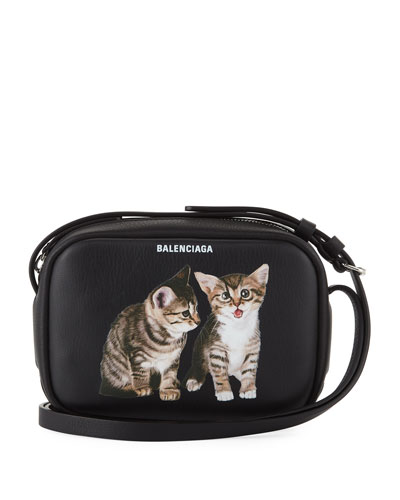 Kitten Leather Everyday Camera Bag