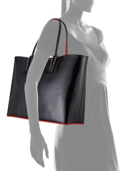 966cf5785d0b Cabata Patent Empire Calf Paris Tote Bag