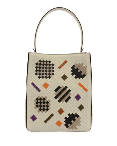 Intrecciato Artsy Tote Bag