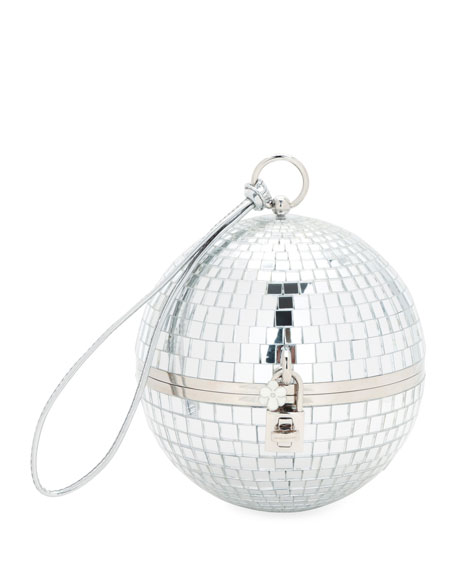 Disco Ball Secret and Diamonds Clutch Bag