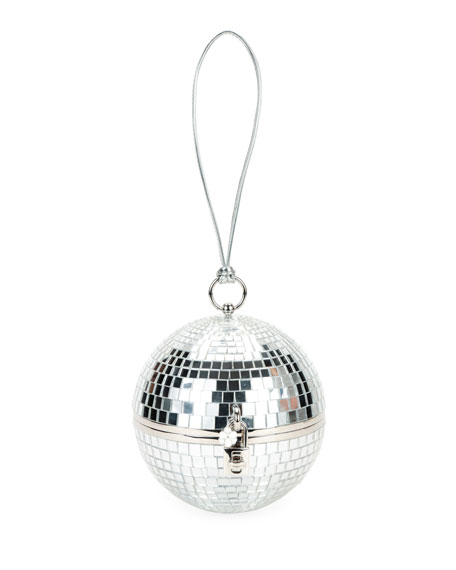 Disco Ball Secret and Diamonds Clutch Bag