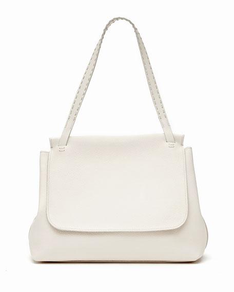 c5285db40f THE ROW Sidekick Fine-Grain Leather Shoulder Bag
