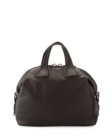 f0315f6cad Givenchy Nightingale Medium Waxy Leather Satchel Bag