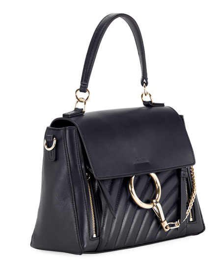 Faye Day Small Quilted Leather Shoulder Bag