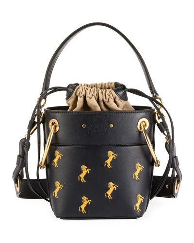 Roy Mini Horses Bucket Bag