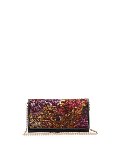 Boudoir Strass Chain Wallet Crossbody Bag