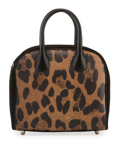 bf5feb52bc62 Marie Jane Small Leopard-Print Calf Satchel Bag Quick Look. Christian  Louboutin