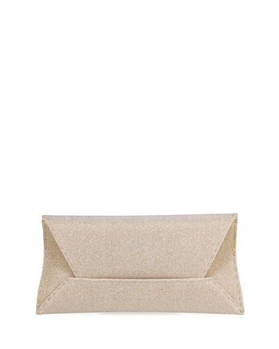 Manila Stretch Fabric Clutch Bag
