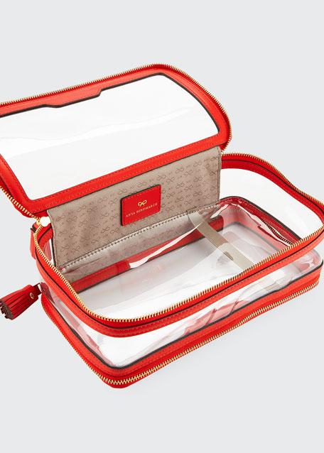 2dd5c62f98 Anya Hindmarch Inflight Transparent Cosmetic Bag