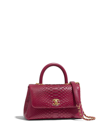 17da5797900ac1 CHANEL SMALL FLAP BAG WITH TOP HANDLE
