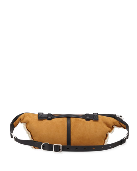 Elliot Large Shearling Fanny Pack