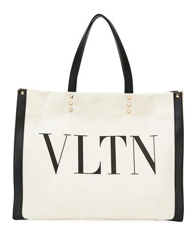 VLTN Grande Plage Small Tote Bag