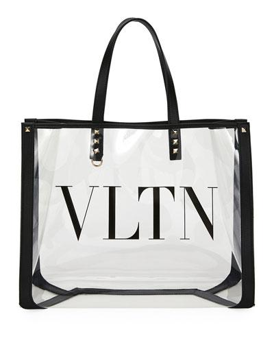 VLTN Grande PVC Tote Bag